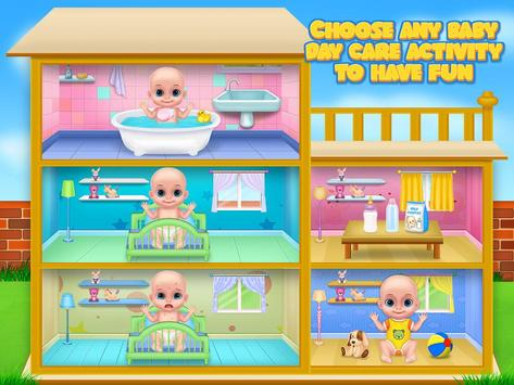 Babysitter Daycare Games & Baby Care and Dress Up screenshot 1