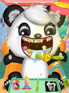 Princess pet hospital - tooth dentist Surgery Game poster