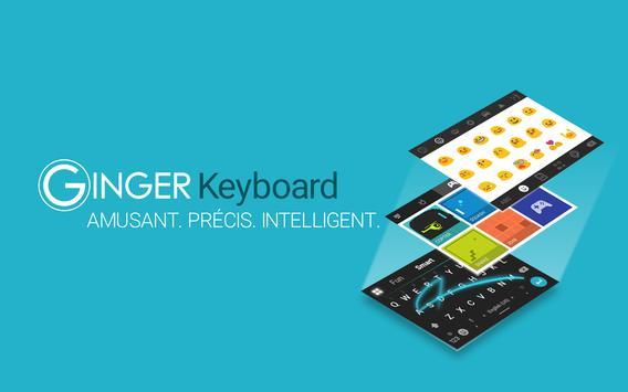Ginger Clavier Français, Emoji capture d'écran 7