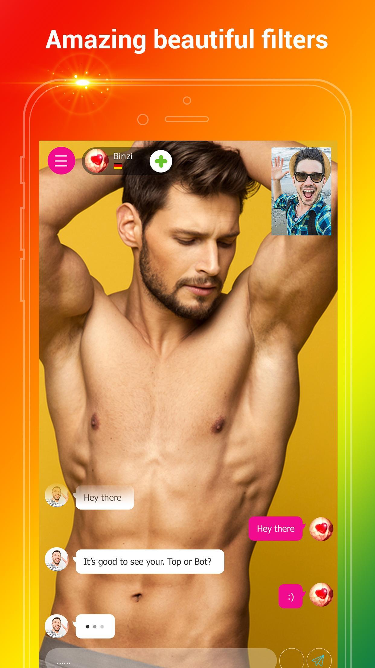 Fuzz - Gay Video Chat & Dating by iHello