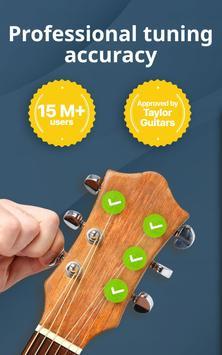 Chromatic Guitar Tuner Free: Ukulele, Bass, Violin screenshot 5