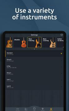 Chromatic Guitar Tuner Free: Ukulele, Bass, Violin screenshot 15