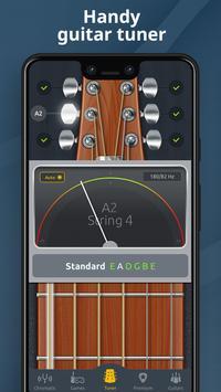 Chromatic Guitar Tuner Free: Ukulele, Bass, Violin screenshot 1
