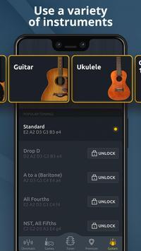 Chromatic Guitar Tuner Free: Ukulele, Bass, Violin screenshot 3