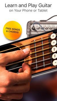 Realistyczne Gitara Bezpłatne plakat