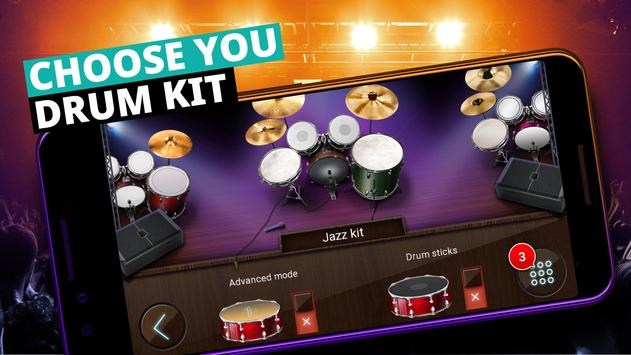 Batería Musical y Juegos de Tambores captura de pantalla 3