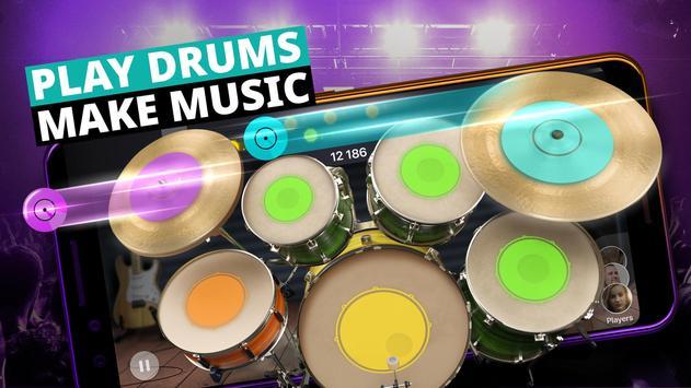 Batería Musical y Juegos de Tambores Poster
