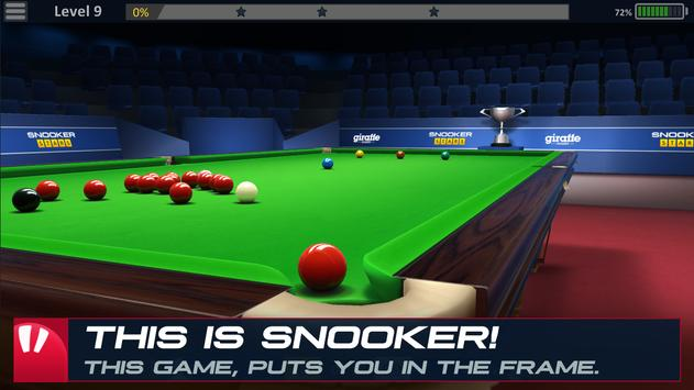 Poster Snooker