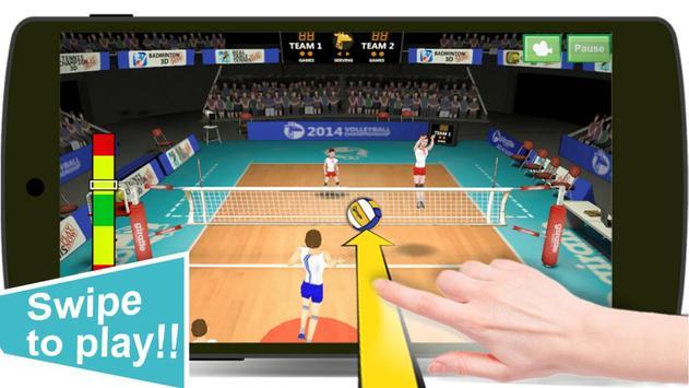 Volleyball screenshot 1