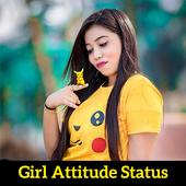 Girl Attitude Status icon