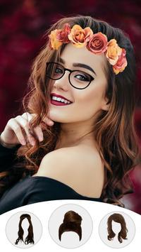 Girl Photo Editor: Beauty Photo Makeup Look screenshot 2