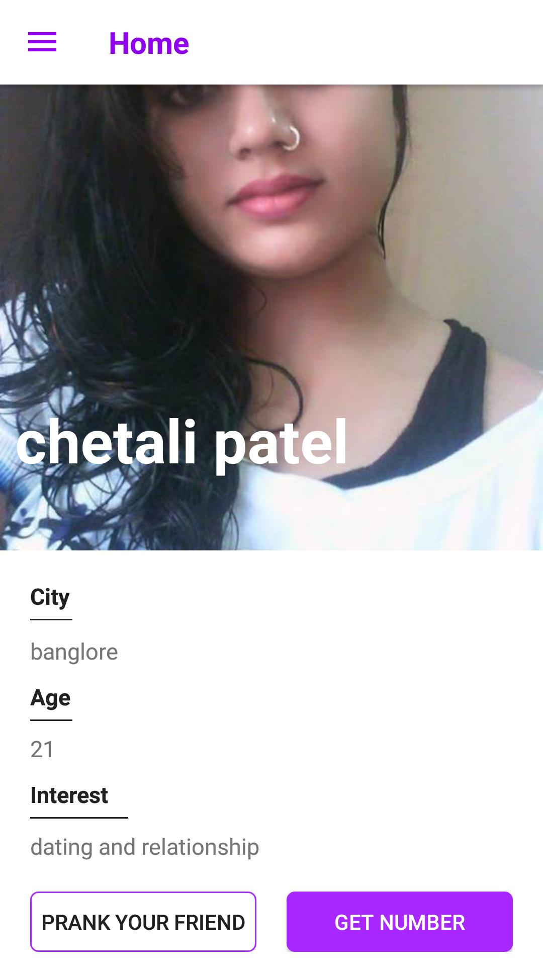 Real girls mobile number for whatsapp prank for Android