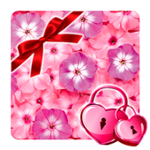 Flowers Pink Flavor 🌸 Girly Lock Screen Wallpaper icon