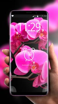 Flowers Pink Flavor 🌸 Girly Lock Screen Wallpaper screenshot 5