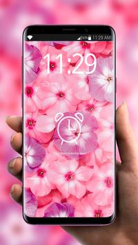 Flowers Pink Flavor 🌸 Girly Lock Screen Wallpaper screenshot 7