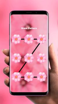 Flowers Pink Flavor 🌸 Girly Lock Screen Wallpaper screenshot 2