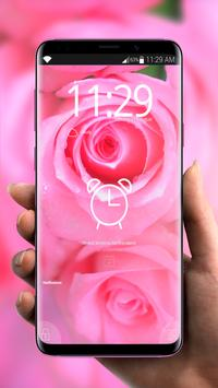 Flowers Pink Flavor 🌸 Girly Lock Screen Wallpaper screenshot 3