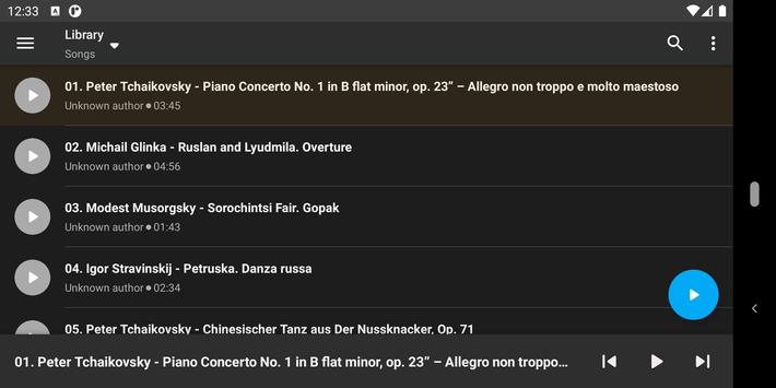 Simple Music Player screenshot 3