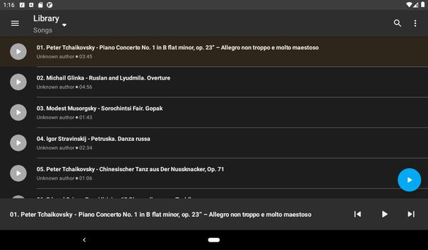 Simple Music Player screenshot 18