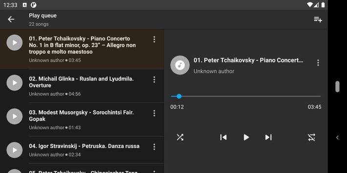 Simple Music Player screenshot 4