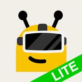 GizmoVR Lite: 360 Video & Tube أيقونة