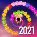 Zooma 2D jungle marble blast bubble pop game 2021