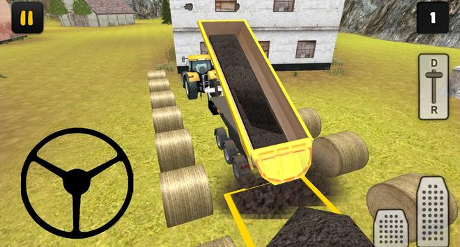 Tractor Simulator 3D: Soil Delivery poster