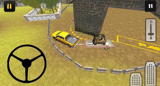 Construction 3D: Forklift Transport screenshot 7