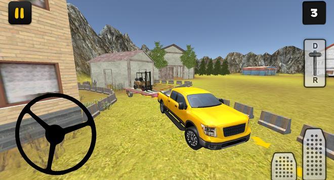Construction 3D: Forklift Transport screenshot 8