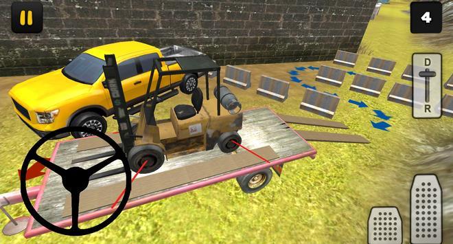 Construction 3D: Forklift Transport screenshot 9