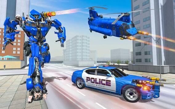 Grand Cargo Helicopter Robot Battle screenshot 5