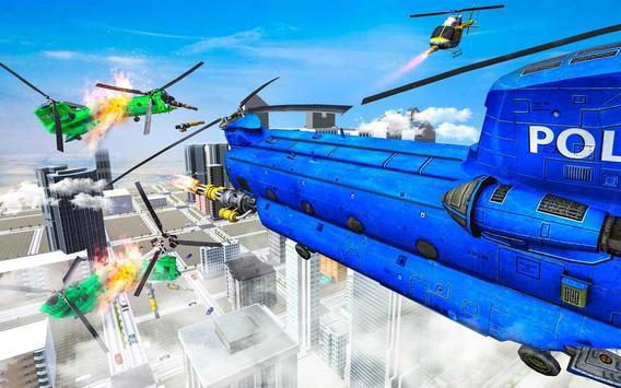 Grand Cargo Helicopter Robot Battle screenshot 9