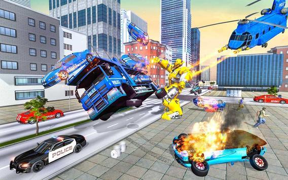 Grand Cargo Helicopter Robot Battle screenshot 13