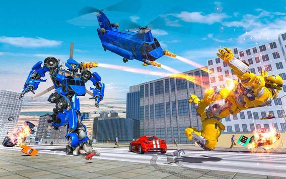 Grand Cargo Helicopter Robot Battle screenshot 2