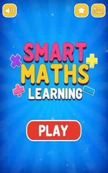 Smart Math Learning - Math Game for Kids(Free) poster