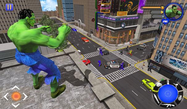 Incredible Monster : Superhero City Survival Games screenshot 13