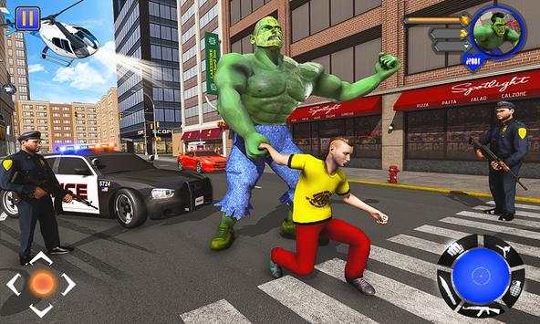 Incredible Monster : Superhero City Survival Games screenshot 1