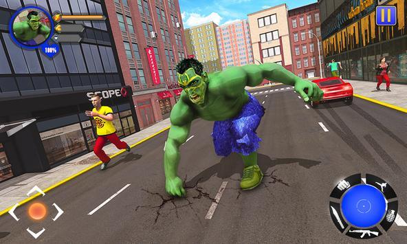 Incredible Monster : Superhero City Survival Games screenshot 4