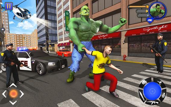 Incredible Monster : Superhero City Survival Games screenshot 6