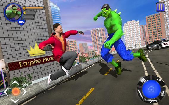 Incredible Monster : Superhero City Survival Games screenshot 7