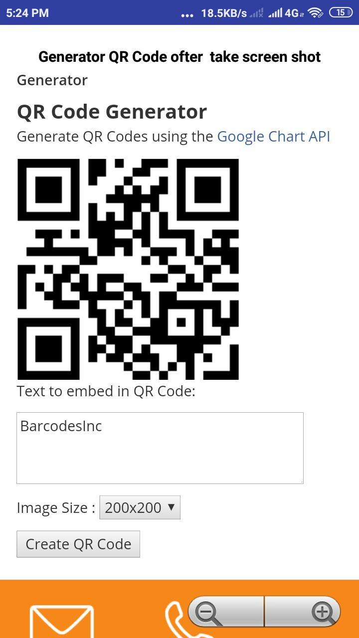 All QR code Scanner & Generator for documents cho Android