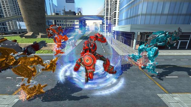 Spider Robot Car Game – Robot Transforming Games screenshot 7