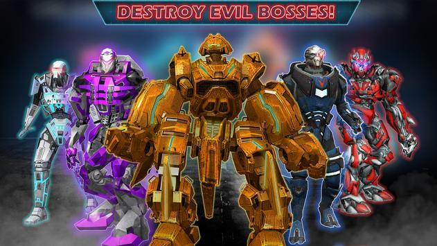 Grand Robot Ring Battle: Robot Fighting Games screenshot 1