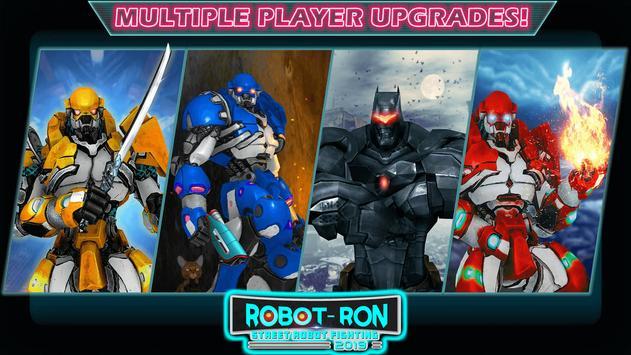 Grand Robot Ring Battle: Robot Fighting Games screenshot 2