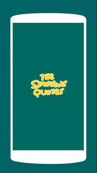 The Simpsons Quotes poster