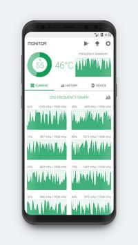 CPU Monitor - temperature, usage, performance poster