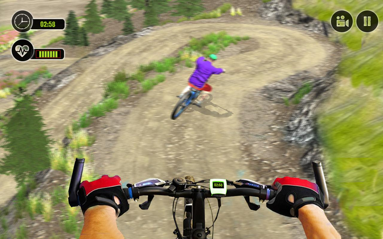 Offroad BMX Rider: Mountain Bike Game screenshot 3