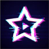 Glitch Star Effect - Creator Video For Tik tok icon
