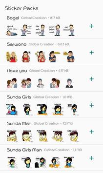 Stiker Muslim Jawa Sunda For WAstickerApps screenshot 2