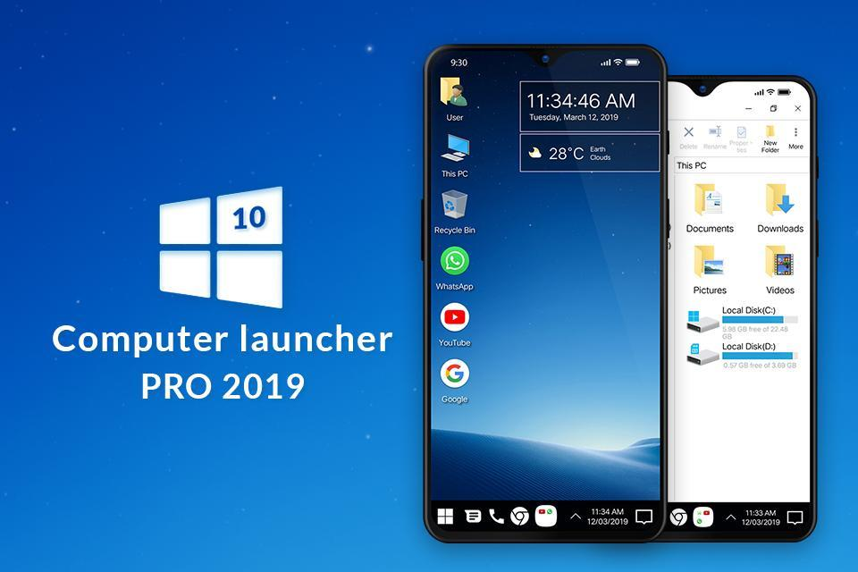 computer launcher for android free download apk